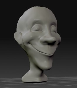 zbrush head